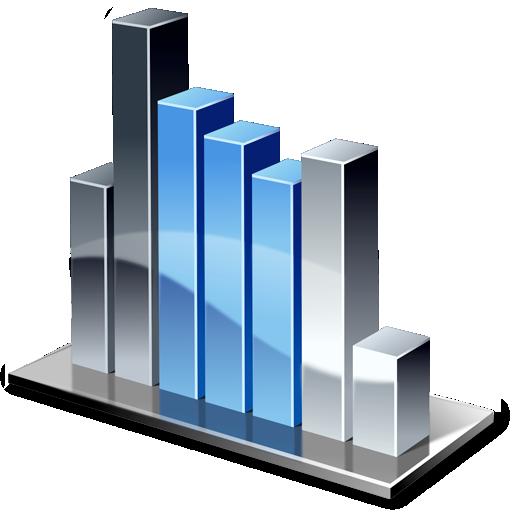 chart, columnchart icon