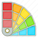 color, paint, palette, tool icon