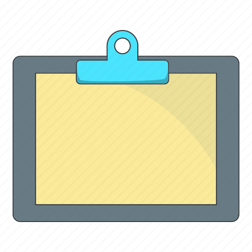 blank, clipboard, document, paper icon
