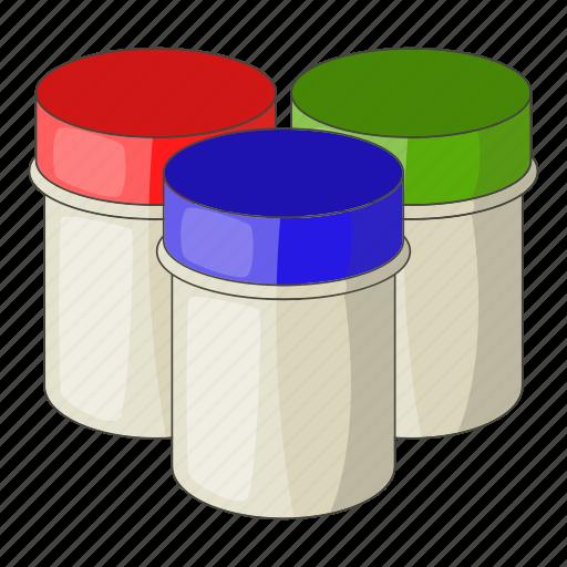 art, gouache, jar, paint icon