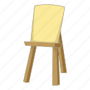 art, document, easel, paper icon