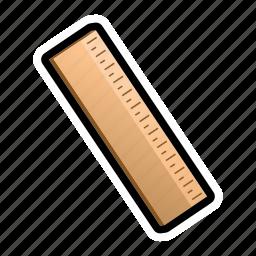 drawing, geometry, math, measure, metrics, ruler icon