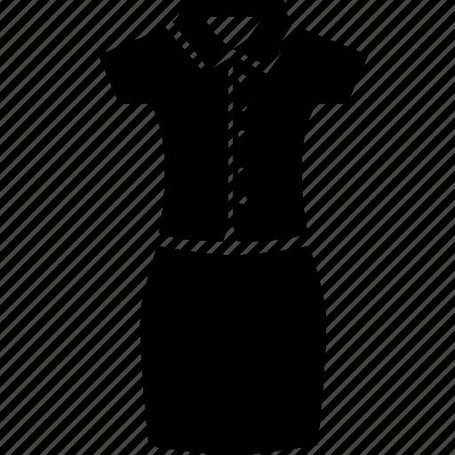 dress, pant suit, short icon