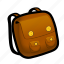 backpack, bag, carry, container, dress, pack, stuff icon