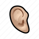 avatar, dress, ear, face icon