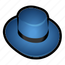 dress, hat icon