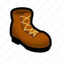 boot, climb, dress, foot, hike, masculine, shoe icon