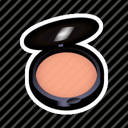 dress, make, makeup, powder icon