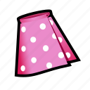 cloth, dress, skirt icon