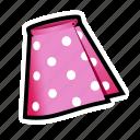 cloth, dress, skirt icon