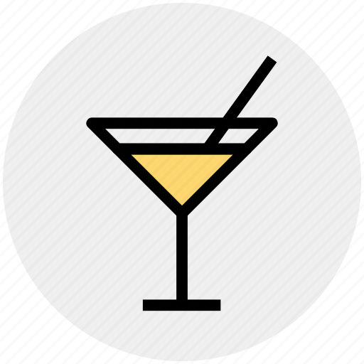 cocktail, drink, mixed drink, soda, soft drink icon
