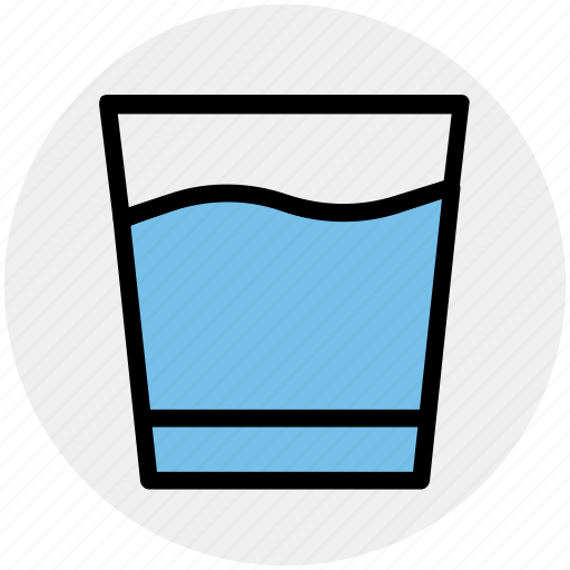 cool water, drink, drinking, glass, soda, water icon
