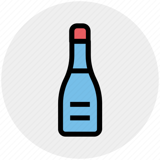 alcohol, alcoholic beverage, bottle, bottle of alcohol, drink, hooch icon