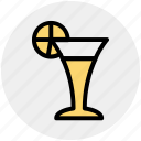 cool drink, deer, drink, glass, wine icon