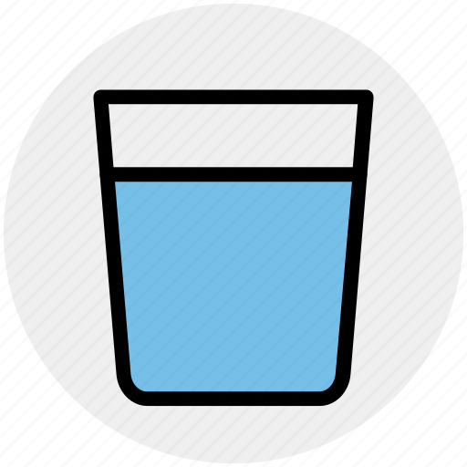 drink, drinking, glass, soda, water icon