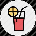 lemonade, punch drink, soda, soft drink icon