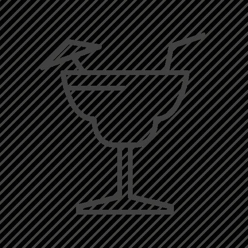 cocktail, cool, glass, lemon, mocktail icon