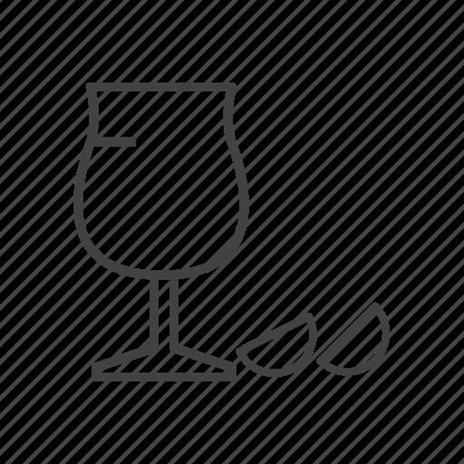 cool, drink, glass, juice, lemon icon
