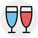 alcohol, champagne, champagne glass, drink, glass for champagne icon