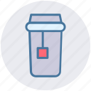 beverage, cup, drink, glass, tea, tea glass icon