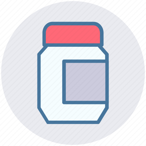 bottle, box, design, geometry, ink icon