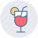 ale, ale soda, ale with orange slice, drink, wheat ale icon
