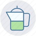 drink, jug, juice, milk, water icon
