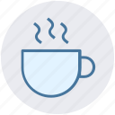 cup and saucer, cup of tea, hot drink, hot tea, tea, tea cup icon