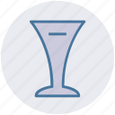 drink, drink glass, glass, soda, soft drink, wine icon