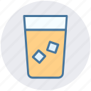 cool water, drink, drink glass, glass, water glass icon