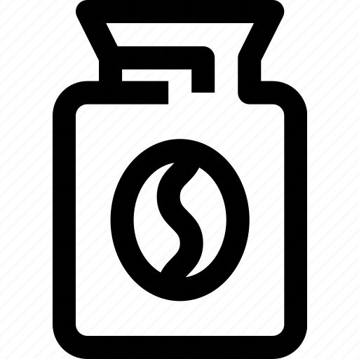 bean, coffee, drink icon