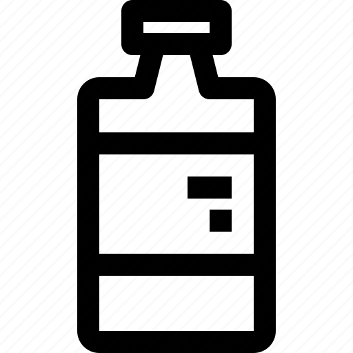 bottle, drink icon