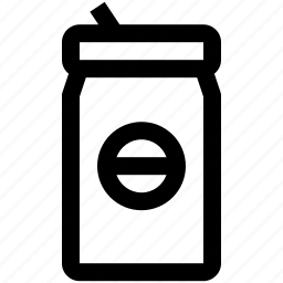 canned, drink icon