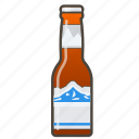 american beer, booze, bottle icon