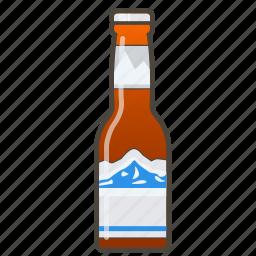 american beer, booze, bottle icon