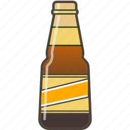 alcohol, booze, bottle, cerveza, dark beer, drink icon