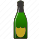 alcohol, booze, bottle, champagne icon