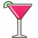 booze, cocktail, cosmo, drink