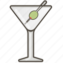 booze, cocktail, martini icon