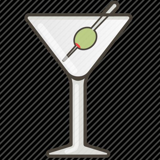 booze, cocktail, martini icon