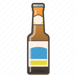 alcohol, beer, booze, bottle, pale ale icon