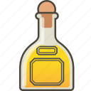 bottle, drink shot, reposado, tequila icon