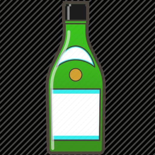 alochol, bottle, drink, sake icon