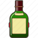 alcohol, booze, bottle, scotch icon