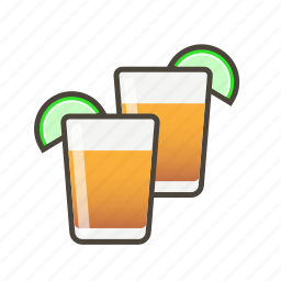 alcohol, drink, shots, tequila icon