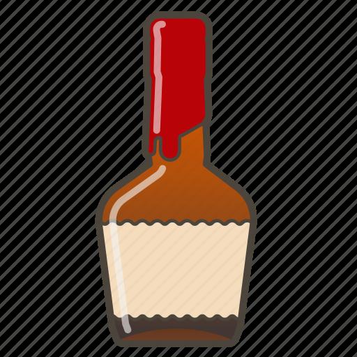 alcohol, booze, bottle, whiskey icon