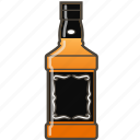alcohol, bottle, whiskey icon