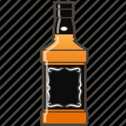 alcohol, bottle, whiskey icon