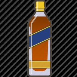 booze, bottle, whiskey icon