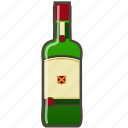 alcohol, booze, bottle, whiskey icon